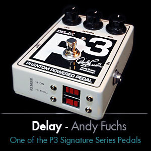 +P3 Signature Series - Andy Fuchs Delay Pedal