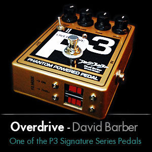 Overdrive +P3 Signature Pedal